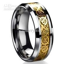 mens celtic wedding bands dragontungsten carbide celtic ring mens jewelry tungsten carbide