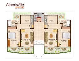 albertsville universe 1 bhk 2 bhk sea facing apartments and