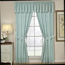House Design Large Windows by Lovely Blue And White Window Curtains For Your Home Decorating