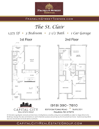 used car floor plan st clair townhome 3 bedroom