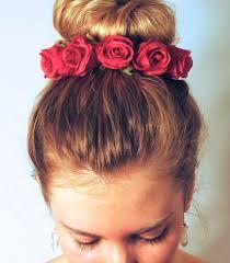 flower hair bun the best bridal buns hair world magazine