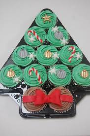 christmas tree cupcake platter u2013 beautiful birthday cakes