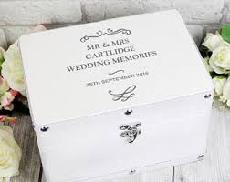 wedding keepsake box wedding memory box etsy