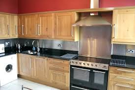 kitchens with stainless steel backsplash stainless steel backsplash we stainless steel backsplash sheets