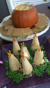 teepee cupcakes for thanksgiving the loved these