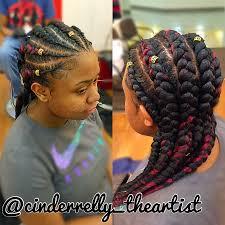 big braids hairstyles feed in braids cinderrelly theartist bunch ideas of big cornrows