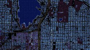 Map Gif Sci Fi Maps Show What Your City Would Look Like In Tron Where