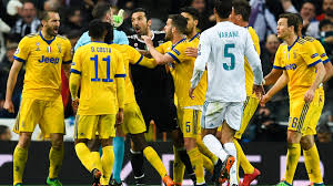 imagenes del real madrid juventus reaction juventus players furious confronted real madrid stars