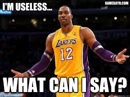 Dwight Howard Memes - top 5 tweets dwight howard is more useless than daily snark