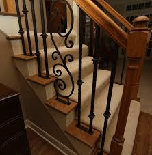 Fer Forge Stairs Design Appealing Fer Forge Stairs Design Forged Iron Stair Railing