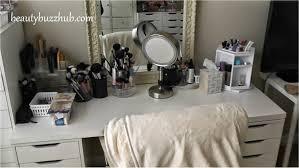 Ikea Desk Drawer Organizer by Beautybuzzhub Makeup Room Tour New Filming Setup Ikea