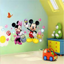 Mickey And Minnie Bedroom Ideas Minnie Mouse Wall Decor Ebay