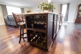 kitchen remodel in central pennsylvania 10 must have items where there s a wine cooler there must be a wine rack on the other side of this springettsbury township kitchen island is a built in wine rack and storage