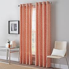 Shower Curtains Bed Bath And Beyond Herringbone Grommet Top Window Curtain Panel Bed Bath U0026 Beyond