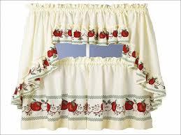 kitchen country style kitchen curtains strawberry kitchen