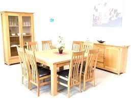 8 seater dining room table dining table and chairs for 8 square