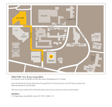 Austin Convention Center Map by Visit Us Mccombs Of Business