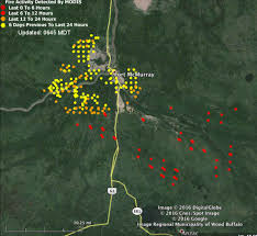 Alaska Fires Map by Alberta Fort Mcmurray Fire Continues Spreading Southeast