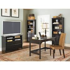 Tv Stand Desk by Sauder Edge Water Tall Tv Stand For Tvs Up To 45