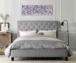 King And Queen Wall Decor Lavender Wave By Qiqigallery 36