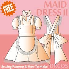 sewing pattern ninja costume costume illustration list drcos patterns how to make