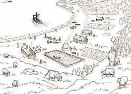 hurstwic farms and villages in the viking age