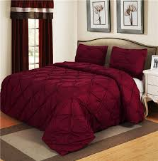 Bedding Sets Luxury Luxurious Bedding Sets Vine Home Textile Pinch Pleat 2 3pcs