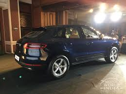porsche india live the porsche macan just got affordable with a price tag of rs