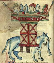 3 Blind Men And The Elephant Medieval Bestiary Elephant