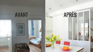 cuisine avant apr鑚 grande salle de bain contemporaine photos de design d intérieur