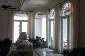 Arch Window Curtain Blind Curtains Valances Arched Windows In Bay Inside Mount Arch
