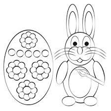 illustration template rabbit carrots