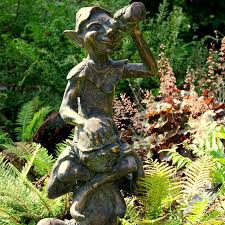 garden statues for sale outdoor decor and candle and blue