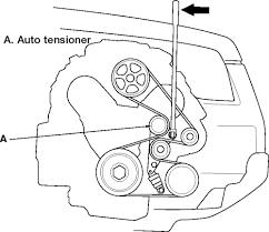 2006 honda pilot timing belt replacement repair guides engine mechanical components timing belt front