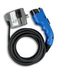 nissan leaf charging cable aerovironment turbocord dual voltage 120 240