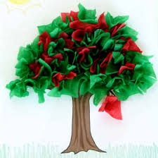 summer tree paper craft