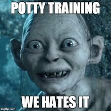 Potty Training Memes - gollum meme imgflip