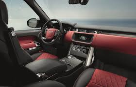 burgundy range rover interior 2017 range rover gets with new tech and svautobiography dynamic