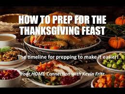 thanksgiving dinner prep to make your feast more relaxing