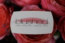 Makeup Business Cards Designs Blushed U2013 Fargo Air Brush Make Up Artist Logo U0026 Business Card