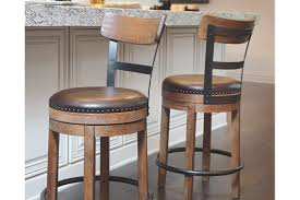 Furniture Row Bar Stools Pinnadel Counter Height Bar Stool Ashley Furniture Homestore
