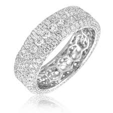 pave set rings images 2 6ct pave set diamond eternity ring jpg