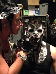 kings island halloween haunt 2017 my snake woman makeup for kings island halloween haunt done by