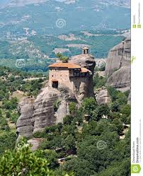 Meteora Greece Map by The Holy Monastery Of St Nicholas Anapausas Meteora Greece