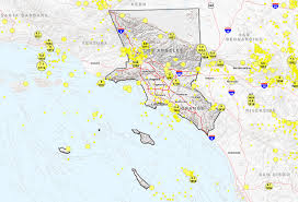 Map Southern California The Great California Shakeout Southern California Coast Area