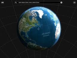 Sattelite World Map by Satellite Map