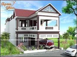 Duplex Home Design Plans 3d 5 Bedroom Duplex 2 Floor Bungalow Design Area 336m2 8m X 42m