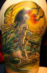 wondwerful anime tattoo tattoomagz
