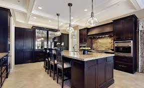 3d view of the high end kitchen interior design 3d house 3d view of the high end kitchen interior design