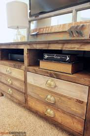 media cabinet with drawers how to build a printmakers media console remodelaholic bloglovin